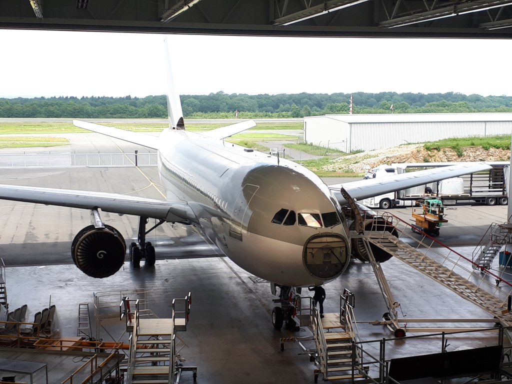 From VIP A310 to spare parts