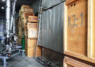 Spare parts warehouse 5
